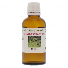 De Cruydhof Stevia extract wit